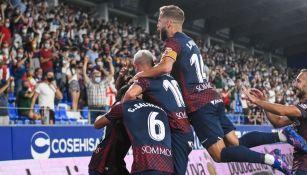 Huesca es líder de LaLiga II