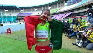 Sofía Ramos Rodríguez en el Campeonato Mundial de Atletismo Sub-20
