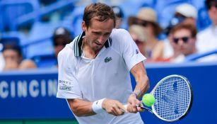 Daniil Medvedev en el Masters de Cincinnati