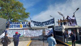 Aficionados de Pumas se manifestaron en CU