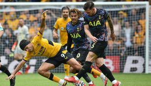 Raúl Jiménez: Wolves cayó ante el Tottenham de su extécnico Nuno Espirito Santo