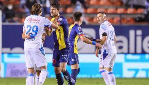 Aguilar y Giménez en empate vs San Luis