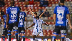 Liga MX: Pachuca hundió más Querétaro al vencerlo a domicilio