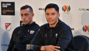 Funes Mori y Talavera en conferencia de prensa