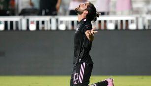 Rodolfo Pizarro en festejo con el Inter de Miami