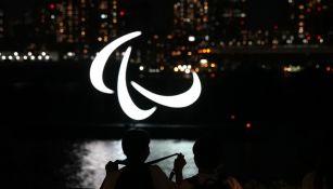 Símbolo de los paralímpicos en Tokio