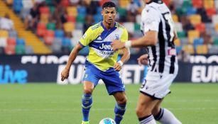 Cristiano Ronaldo en acción con la Juventus