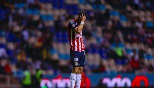 Jesús Molina durante un partido con Chivas