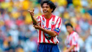 Joel Sánchez, durante un Clásico Nacional