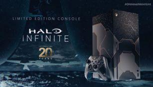 Xbox Series X edición especial por Halo Infinite