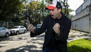 Christian Martinoli posando para la lente de RÉCORD
