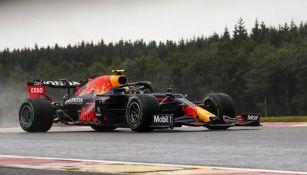 Checo Pérez, en una prueba de F1