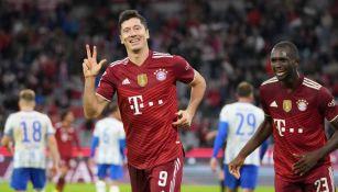 Bayern Múnich: Lewandowski marca la goleada sobre el Herta Berlín