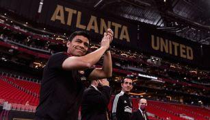 Gonzalo Pineda: DT mexicano recibido en grande por afición del Atlanta United