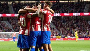 Atlético de Madrid, en festejo