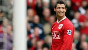 Cristiano Ronaldo en su primera etapa con el Manchester United