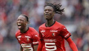 Eduado Camavinga con el Rennes