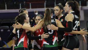 Selección Mexicana de Voleibol Femenil finalizó en quinto lugar torneo continental