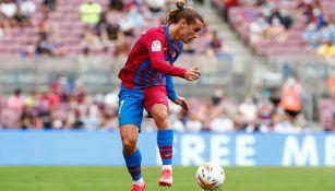 Antoine Griezmann, en juego con el Barcelona