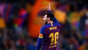 Lionel Messi como jugador del Barcelona