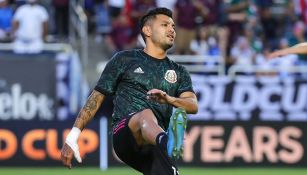 El Tecatito Corona previo a un partido con Selección Mexicana