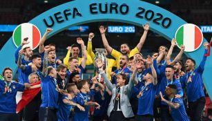 Italia festeja el título de la Eurocopa 2020