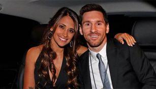 Antonella y Messi juntos