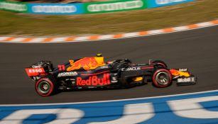 Sergio Pérez, en primera ronda de la calificación del GP de Países Bajos
