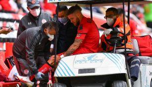 Toluca: Miguel Barbieri se lesionó y se perderá el resto del Apertura 2021