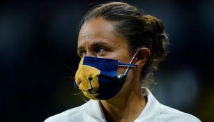 Karina Báez, estratega de Pumas Femenil