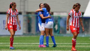 Liga MX Femenil: Cruz Azul consiguió primera victoria en casa al vencer a San Luis