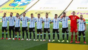 Seleccionados argentinos previo al partido ante Brasil