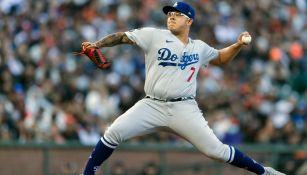 Julio Urías: El pitcher mexicano alcanzó las 16 victorias en triunfo de Dodgers sobre Giants