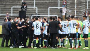 Conflicto entre la Anvisa y la Selección Argentina