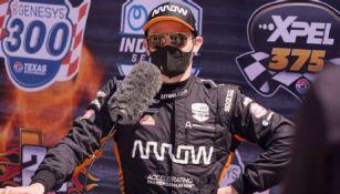Pato O'Ward, piloto mexicano de IndyCar