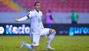Rogelio Funes Mori en el Costa Rica vs México