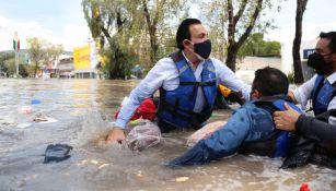 Hospital de Tula: Fallecieron 17 pacientes por inundación en edificio del IMSS