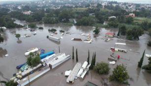 Las imágenes de la inundación en Hidalgo