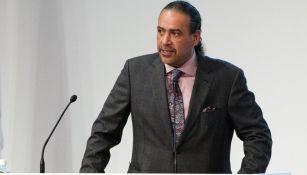 Ahmad al-Fahad al-Sabah como presidente de la ACNO en 2018