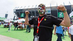 Aficionado en el GP de México