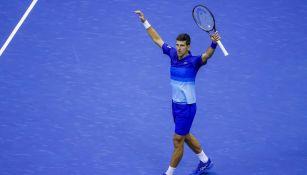 Novak Djokovic clasificó a la Final del US Open