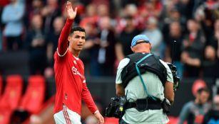 Cristiano Ronaldo tras el duelo entre Manchester United y el Newcastle