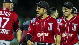 Acción en el  Leones de Yucatán vs Toros de Tijuana
