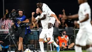 Gonzalo Higuaín celebrando un gol con Inter de Miami