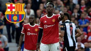 Pogba podría llegar al Barcelona