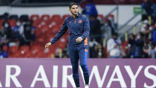 Jesús Corona previo al partido vs Rayados en Concachampions