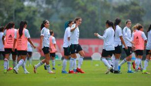 Tri Femenil disputó una práctica vs Colombia