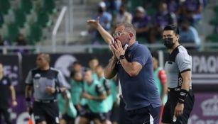 Andrés Lillini en el partido vs Mazatlán