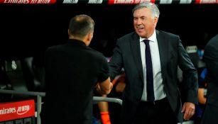 Carlo Ancelotti: 'Ahora estoy en luna de miel con el Real Madrid'