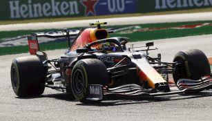 Checo Pérez en el Gran Premio de Italia